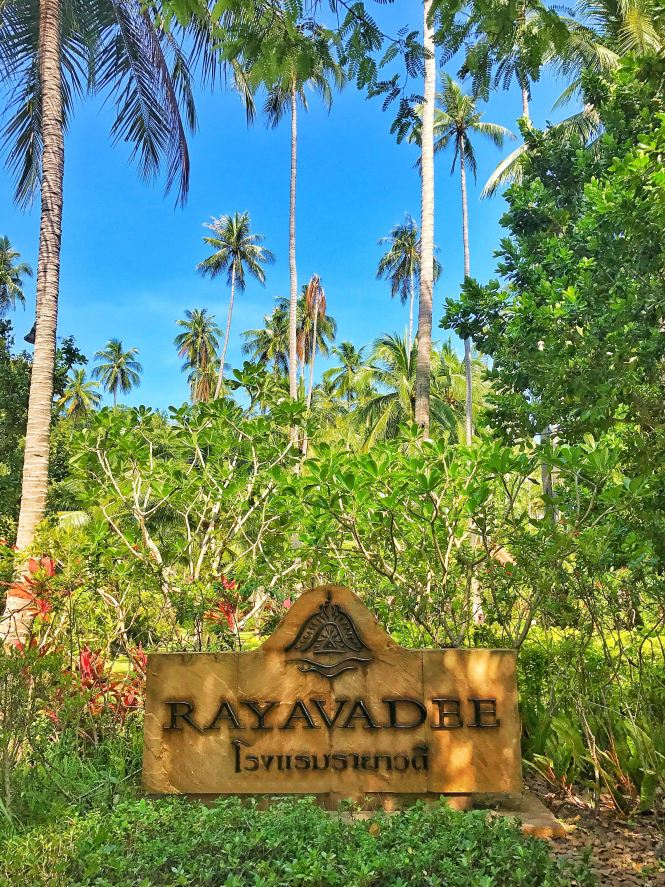 rayavadee sign krabi thailand