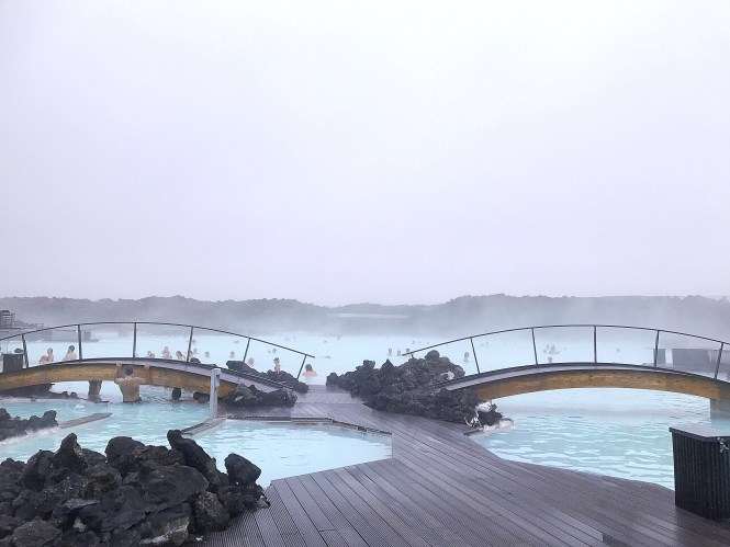 Blue lagoon Reykjavik Iceland
