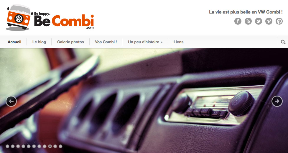 Aperçu du site Internet Becombi.com