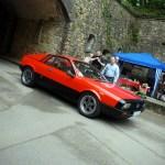 Arrivée de la Lancia Beta Monte Carlo