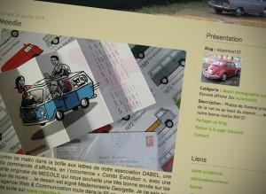 Impression écran du Blog Elcamino137 de Florend