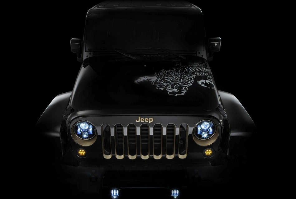 Chrysler 300C and Jeep Wrangler Concepts for China (4)