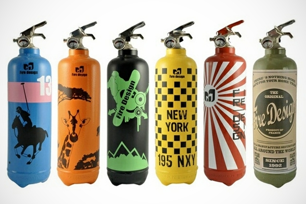 Fire Design - Decorative Fire Extinguishers (1)