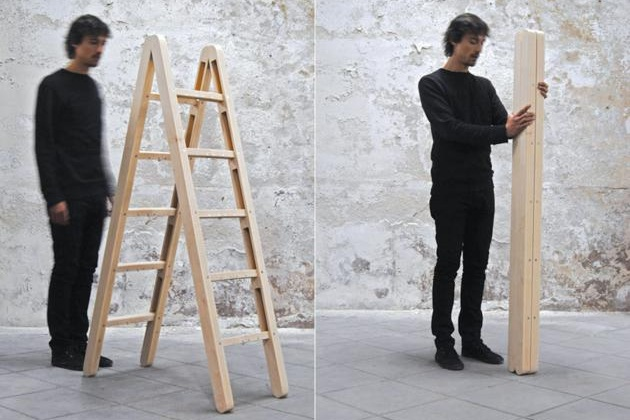 Folding ladder for home