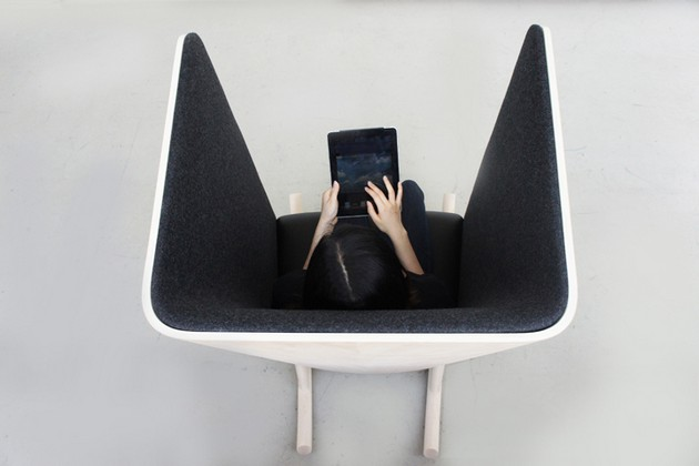 Creative Privacy Chair
