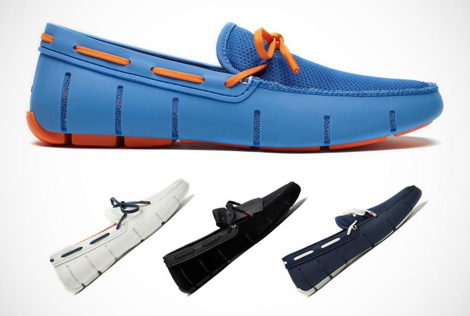 SWIMS Lace-Up Loafers for Summer