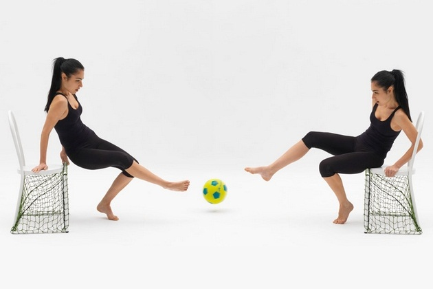 Lazy Football Chair by Emanuele Magini (2)