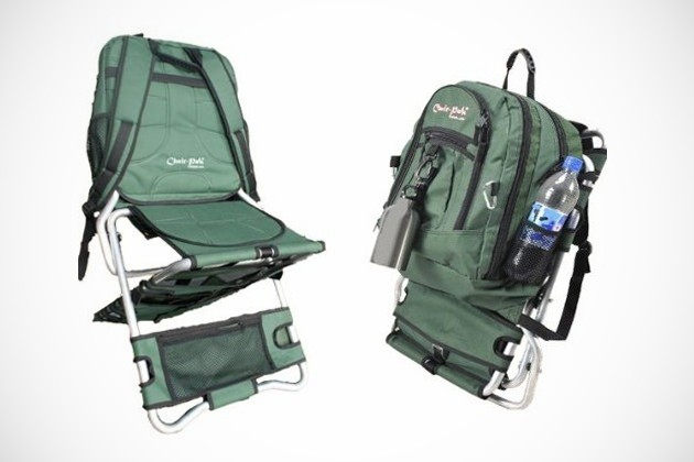 camping chair with cooler walmart folding chairs and tables pak - the backpack bonjourlife