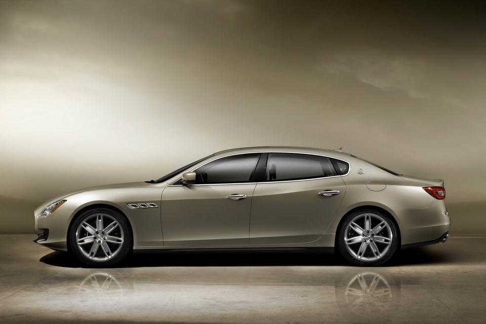 2013 Maserati Quattroporte for 2013 Detroit Auto Show (2)