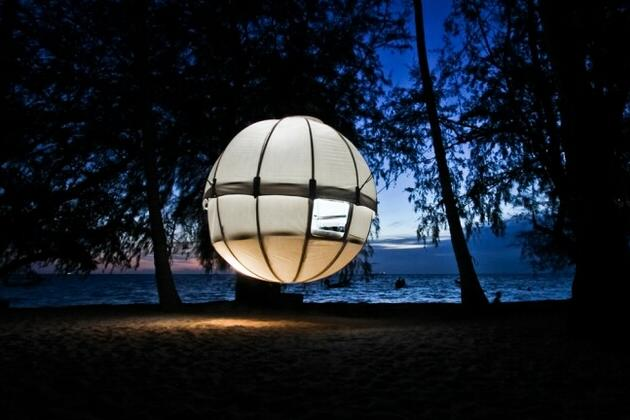 Cocoon Tree - Hanging Bed (2)