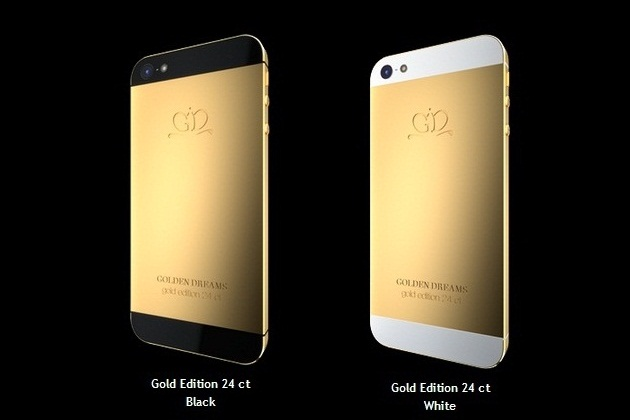 Golden Dreams Luxury iPhone 5 Collection (2)
