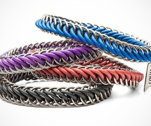 Color Chainmail Bracelet for Men (2)