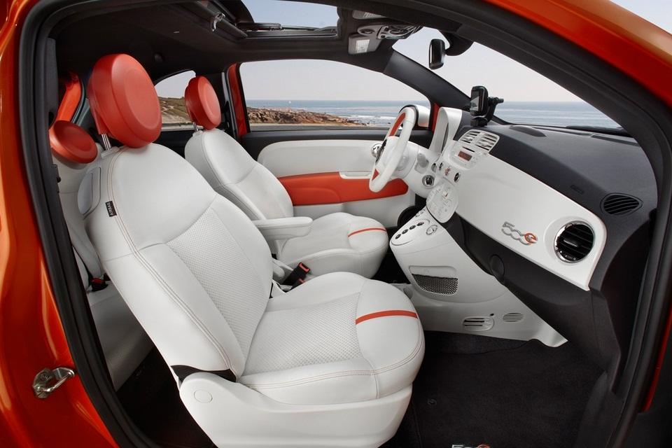 2013 Fiat 500 Electric Car (5)