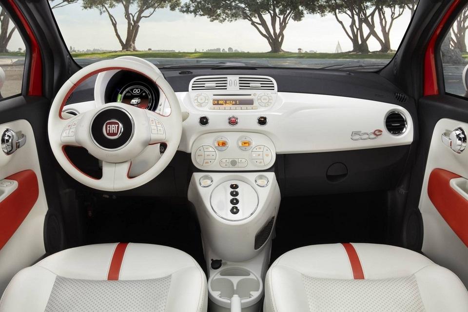 2013 Fiat 500 Electric Car (3)