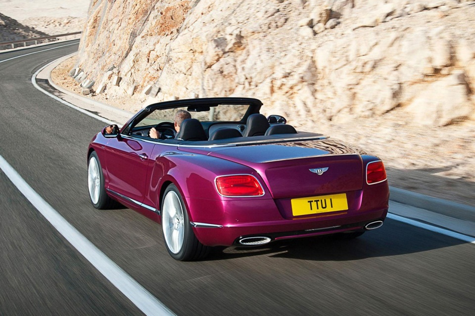 Bentley Continental GT Speed Convertible (2)