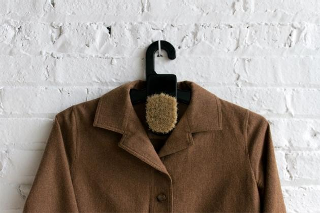 Brushanger Hangs Your Jacket, Cleans it