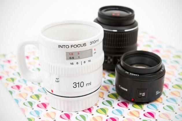 Get Into Focus Lens Mug