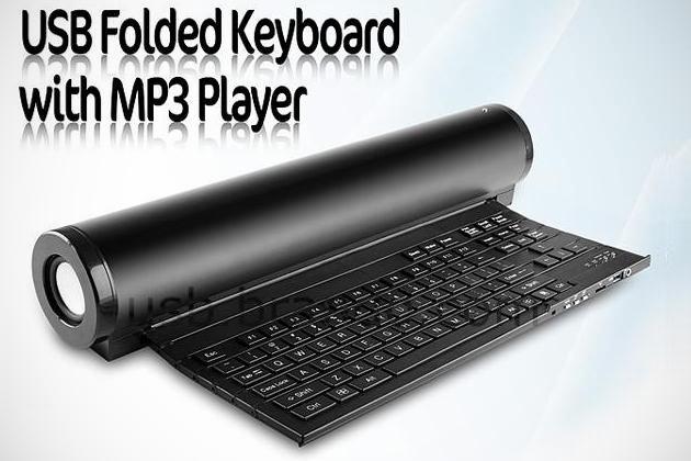 USB Folded Keyboard