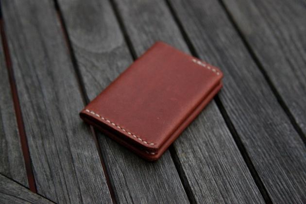 Handmade Ultra Slim Leather Wallet (3)