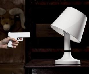 Bang! Lamp Lets You Gunshot The Lights