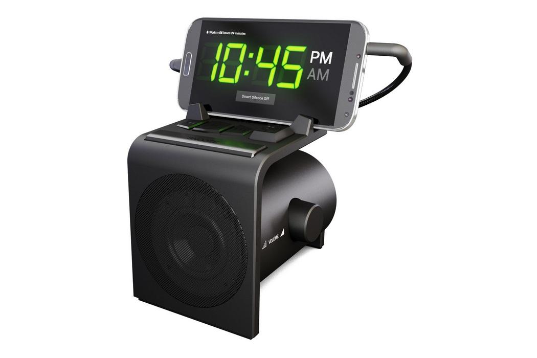 Alarm Clock Speaker Dock for Android Phones (3)