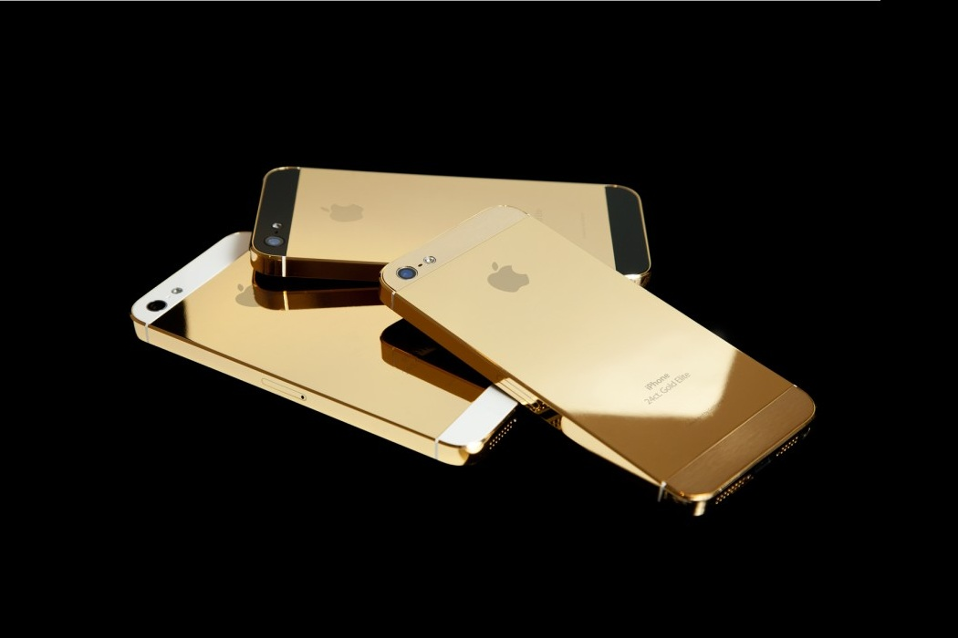 Apple Solid Gold Iphone 5s (3)