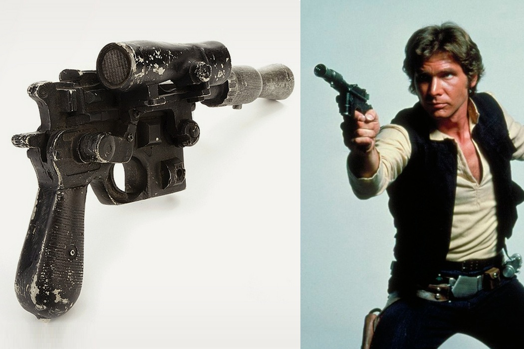 Han Solo`s Blaster From Star Wars Up For Bid (2)
