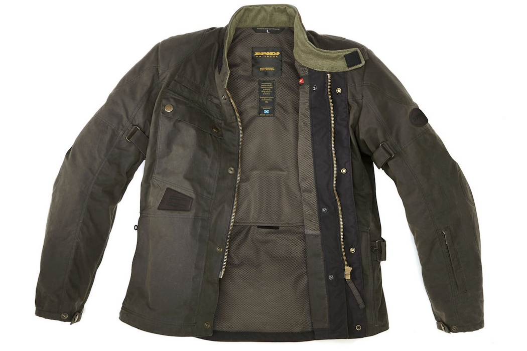 Spidi Worker Wax H2out Jacket (1)