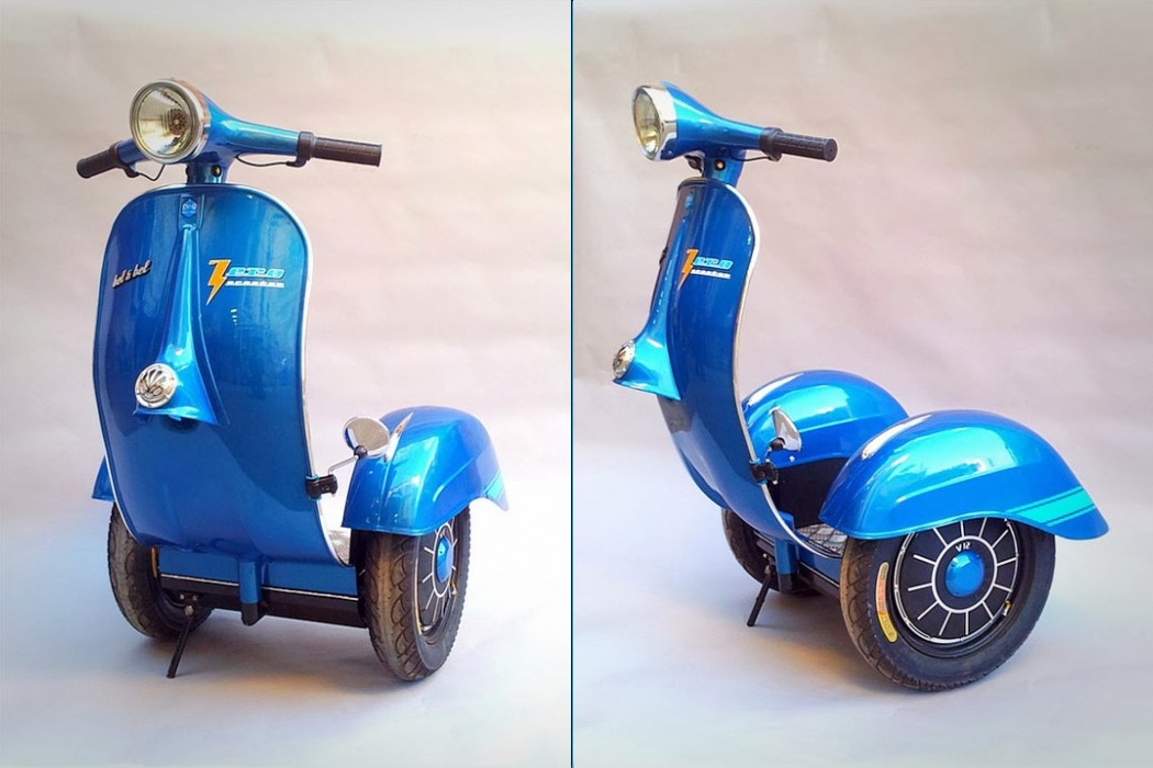 The First Vespa Segway (2)