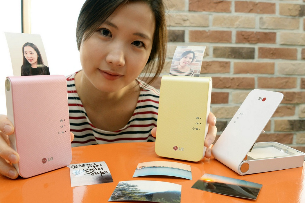 LG Pocket Photo 2.0 Mobile Printer