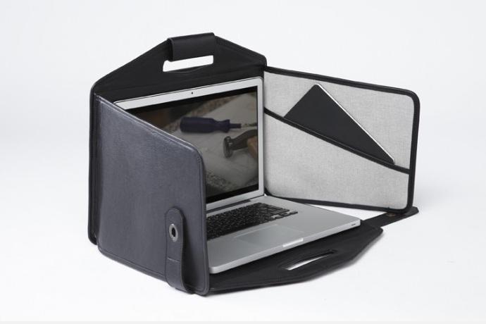 La Fonction No.1 Briefcase A Miniature Mobile Cubicle
