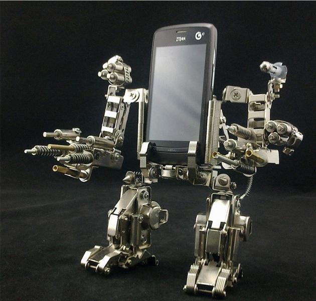 Mech Warrior Cell-Phone Holder