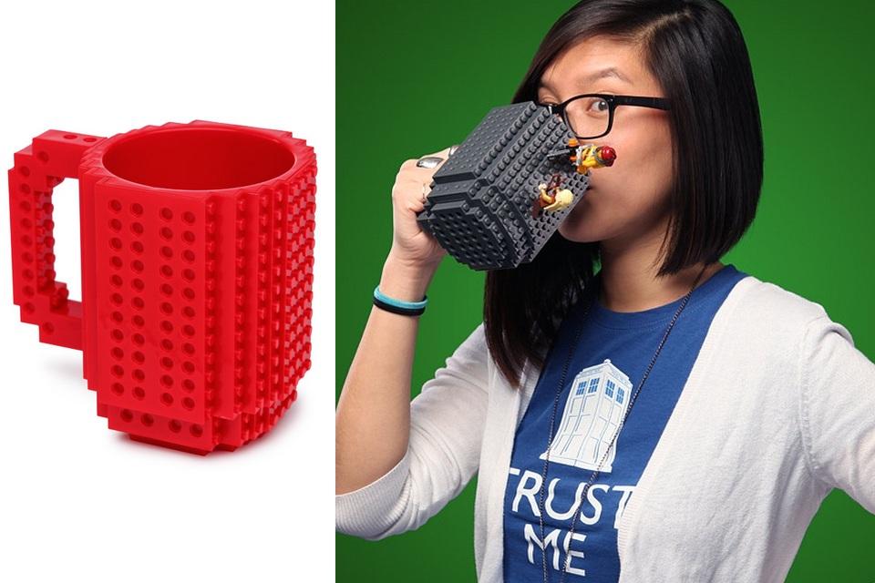 My Lego Build-On Coffee Mug