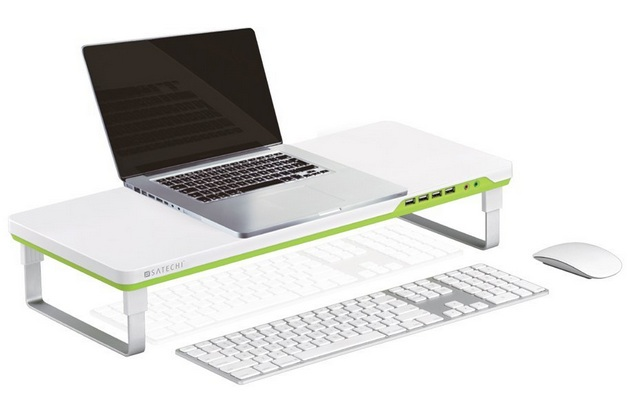 Satechi F1 Smart Monitor Stand with 4 USB Ports