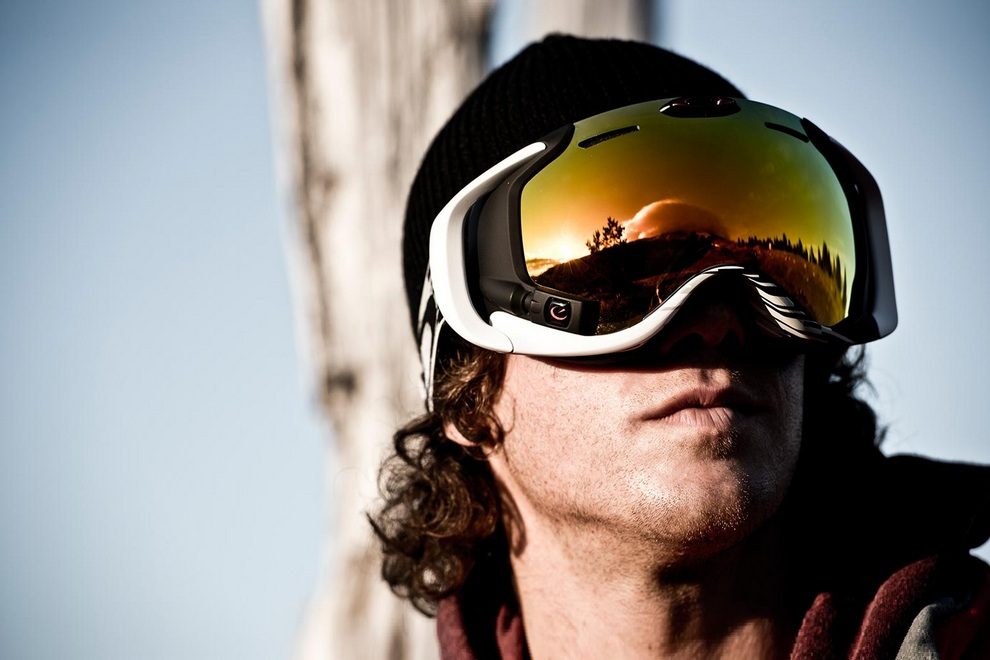 Oakley Heads-Up Airwave Ski Goggles
