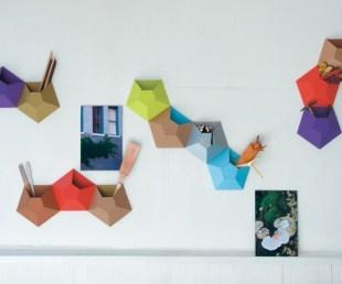 Ingenious Kaleidoscope Wall Pockets By Ampersand