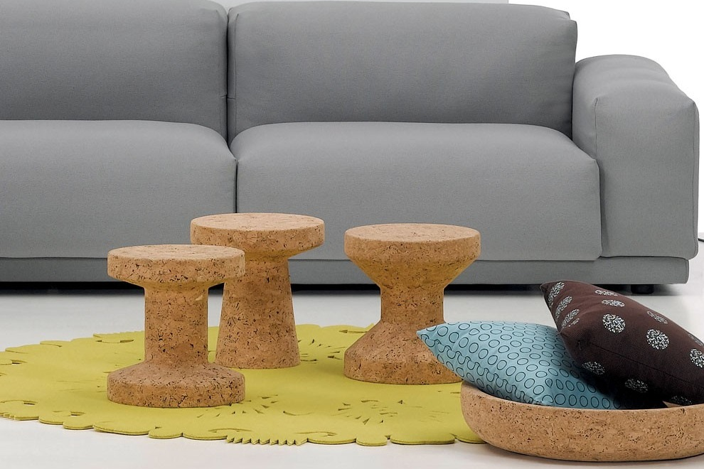 Modern Cork Family Stools By Vitra