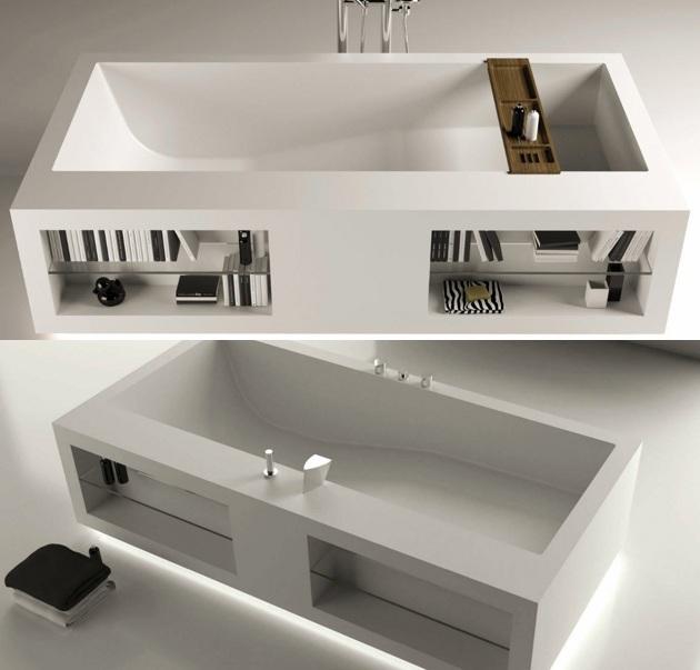 Rectangular Bathtub By Moma Design