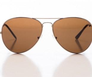 Reds Mavericks Gold Sunglasses
