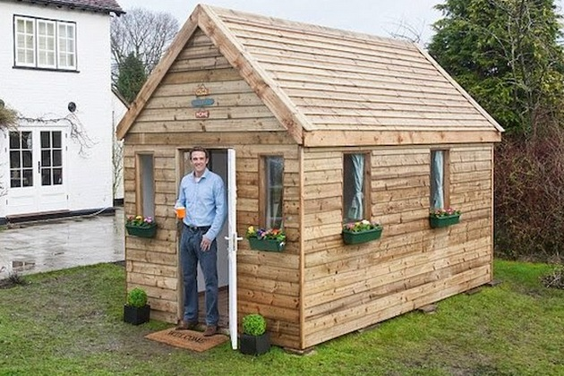 Tiny Home Concept Flatpack House