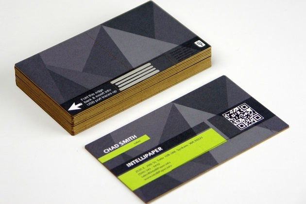 Swivel Business Card USB (4)