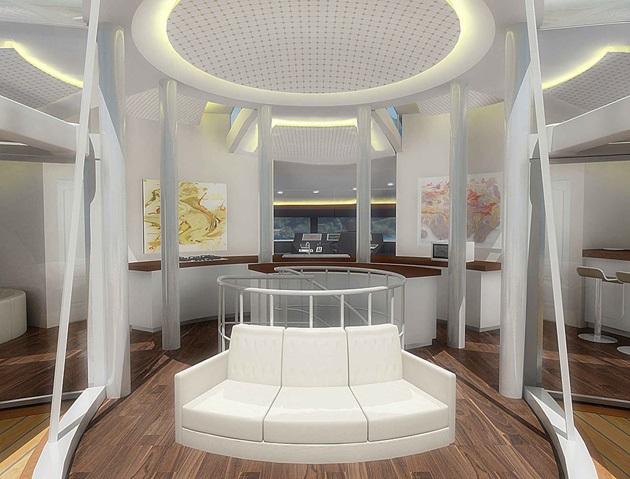 The Luxury Solar Floating Island Resort (4)