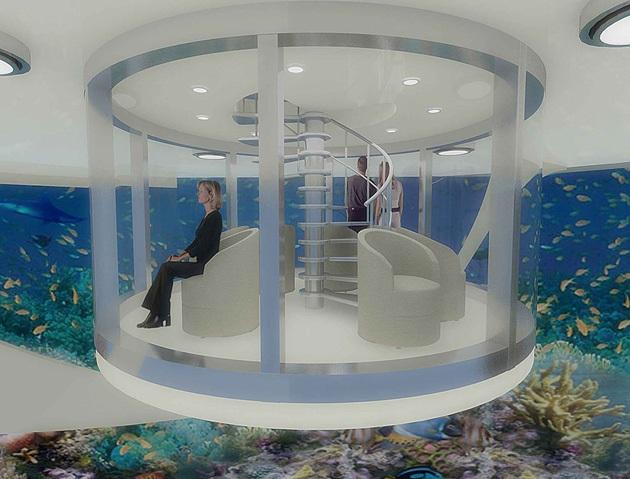 The Luxury Solar Floating Island Resort (1)