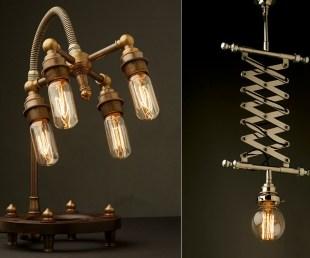 Edison Light Globes Steampunk Lamps