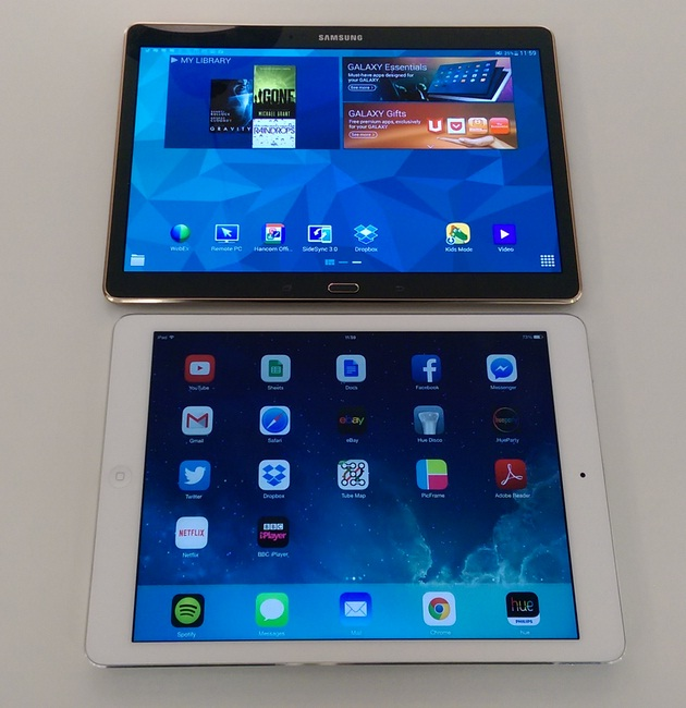 Best Tablet of 2015 - iPad Air 2 vs Samsung Galaxy Tab S (1)