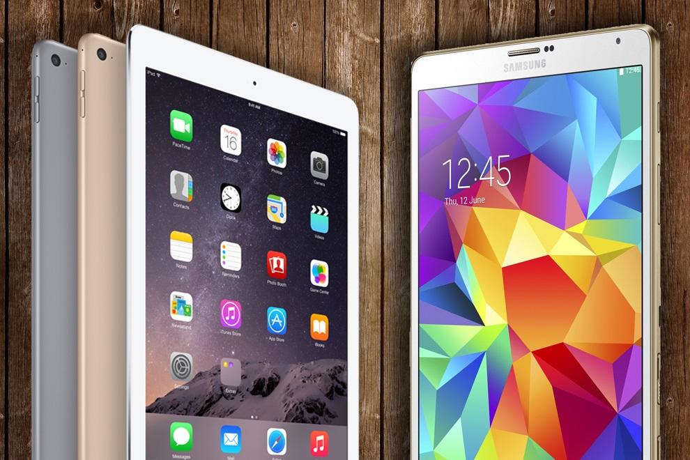 Best Tablet of 2015 - iPad Air 2 vs Samsung Galaxy Tab S (3)