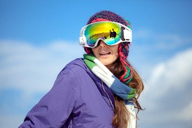 RideOn Augmented Reality Ski Goggles for Snow Sports