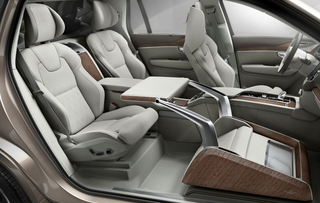 Volvo XC90 is a Mid-size Luxury Crossover SUV (2)