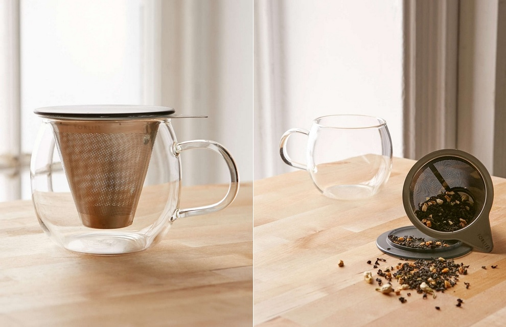 Brew-In-A-Cup Tea Infuser And Mug (2)