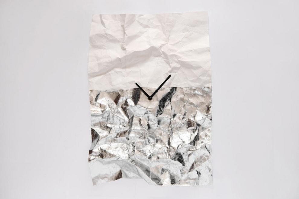 NEW-TIME Wall Clock by Veronika Szalai (3)